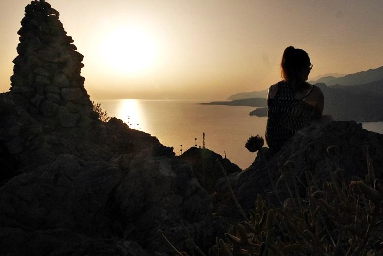 Wandern auf Kreta: Man hat eine herrliche Aussicht vom Hausberg von Plakias