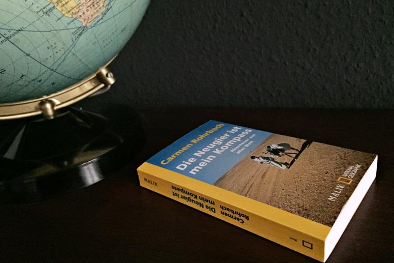 """Cover des Buches von Carmen Rohrbach """"Die Neugier ist mein Kompass"""""""