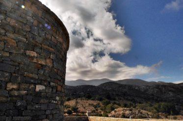 Der aus Stein gebauter Sheperds Shelter am Fuße des Psiloritis auf Kreta.