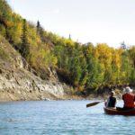 Von Pumaspuren, Bibern und einem Unwetter: Paddeln auf dem Saskatchewan River