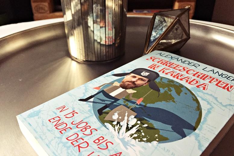 Cover des Buches Schneeschippen in Kanada