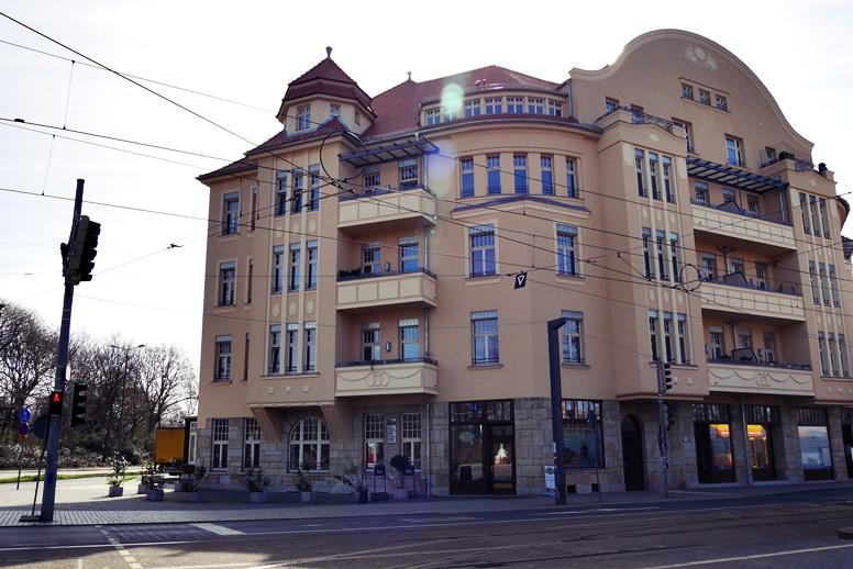 Das Capa-Haus in Leipzig in der Jahnallee 61