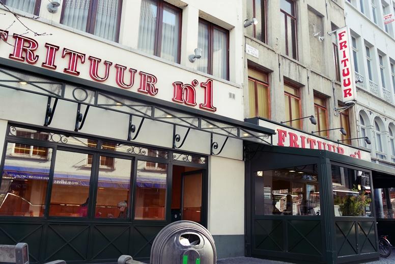 Frituur in Antwerpen