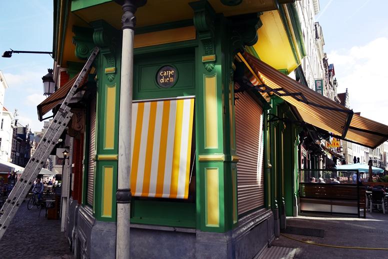 Häuserecke in Antwerpen