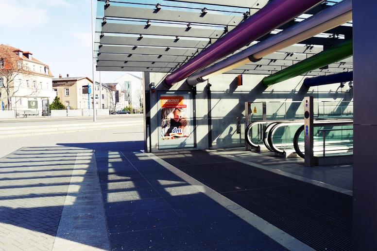 S-Bahn Haltestelle Bayerischer Bahnhof in Leipzig
