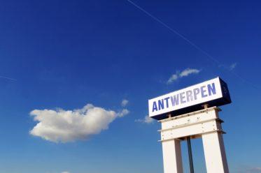 Schild mit der Aufschrift Antwerpen