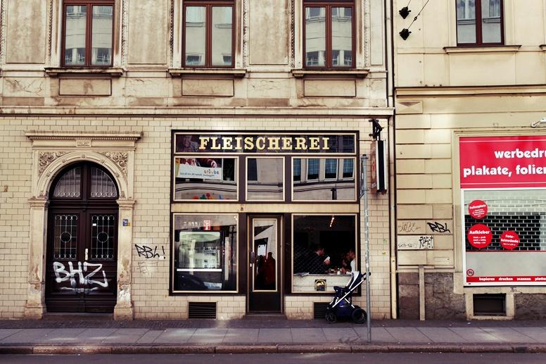 Fleischerei in Leipzig