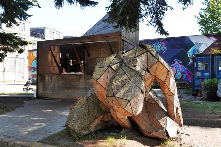 Streetart in Estlands Hauptstadt Tallinn