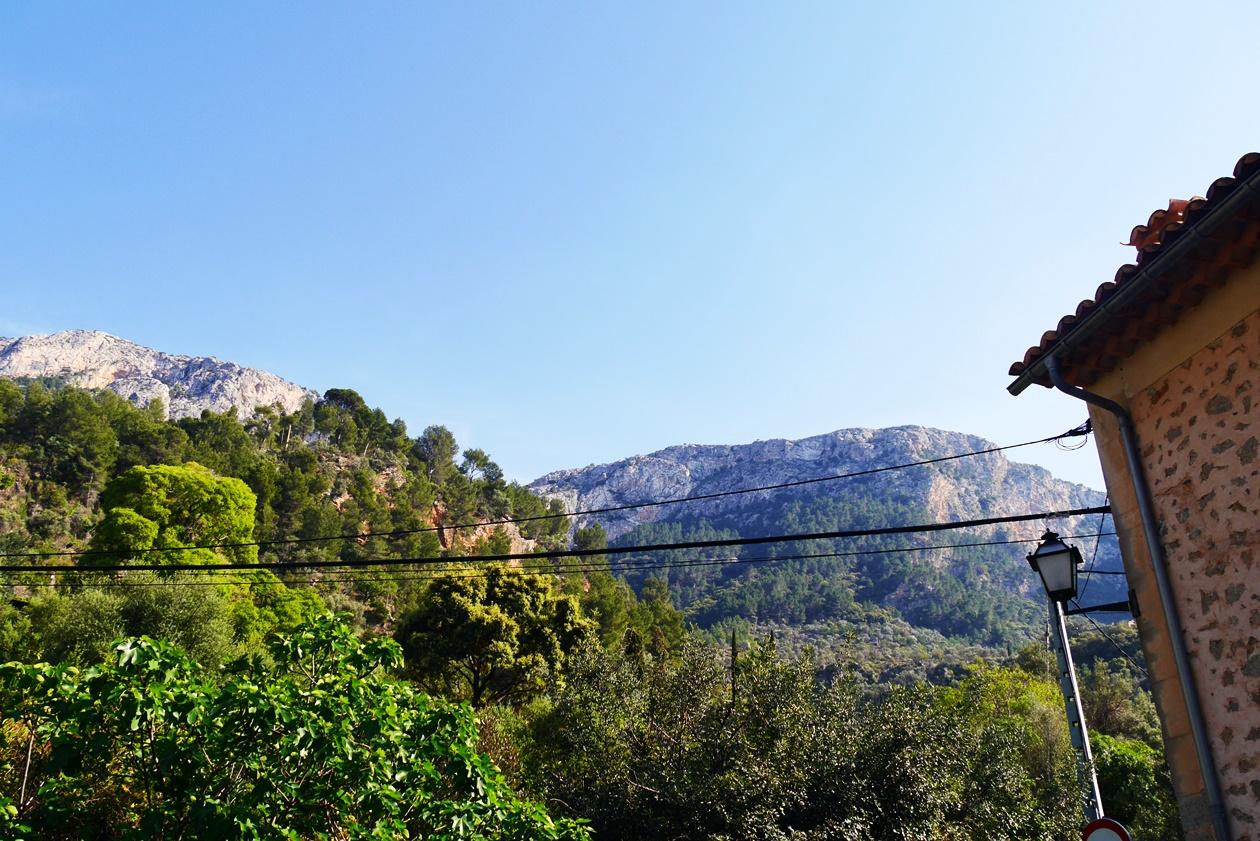 Berge um Deia auf der 4.Etappe des GR221
