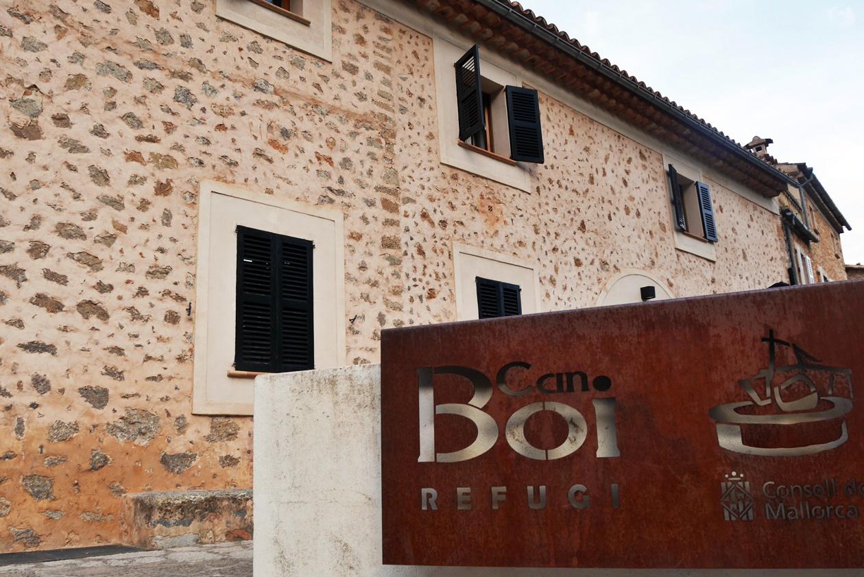 Refugi Can Boi in Deia auf der 4.Etappe des GR221