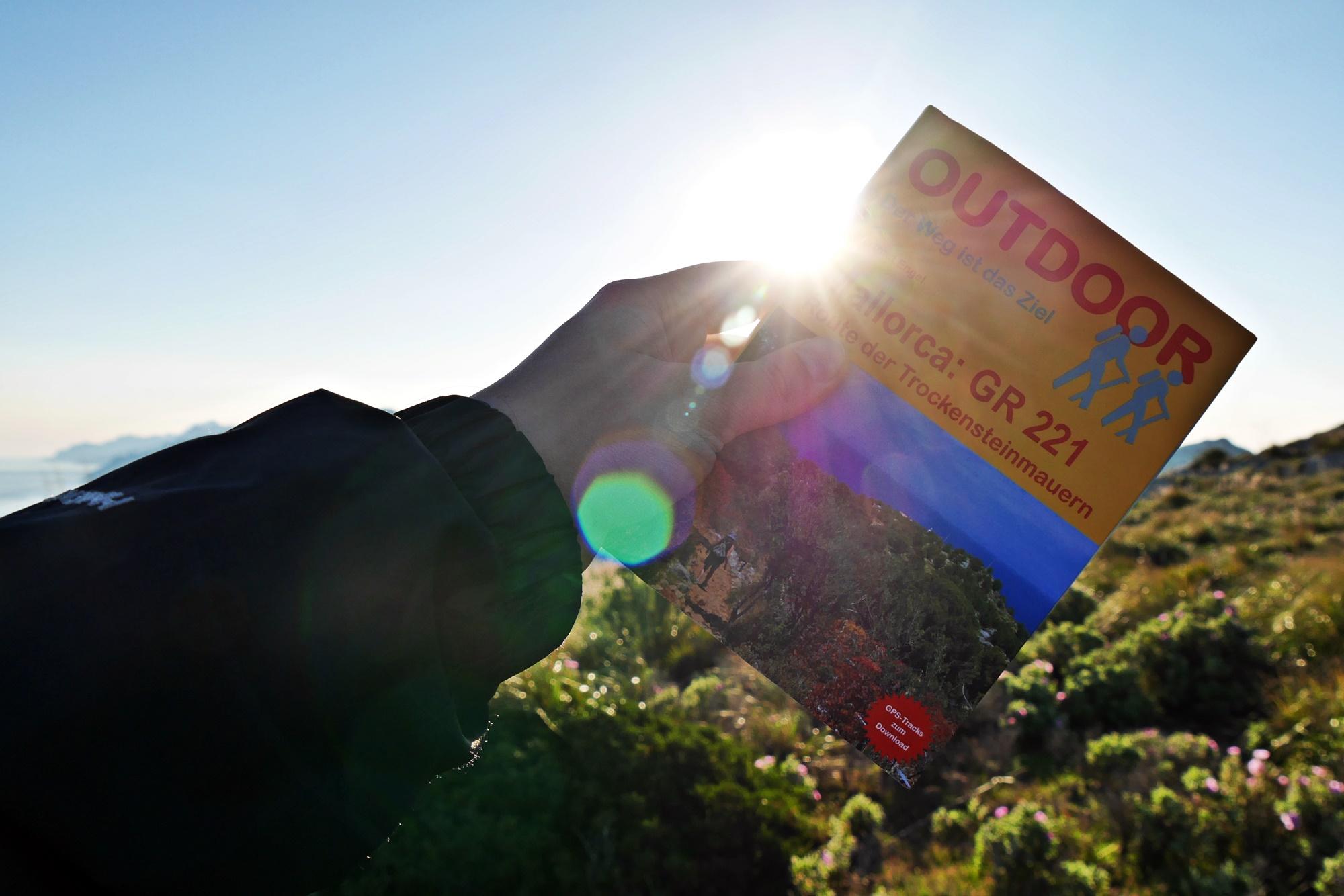 Wanderführer über den GR221 auf Mallorca aus dem Conrad Stein Verlag