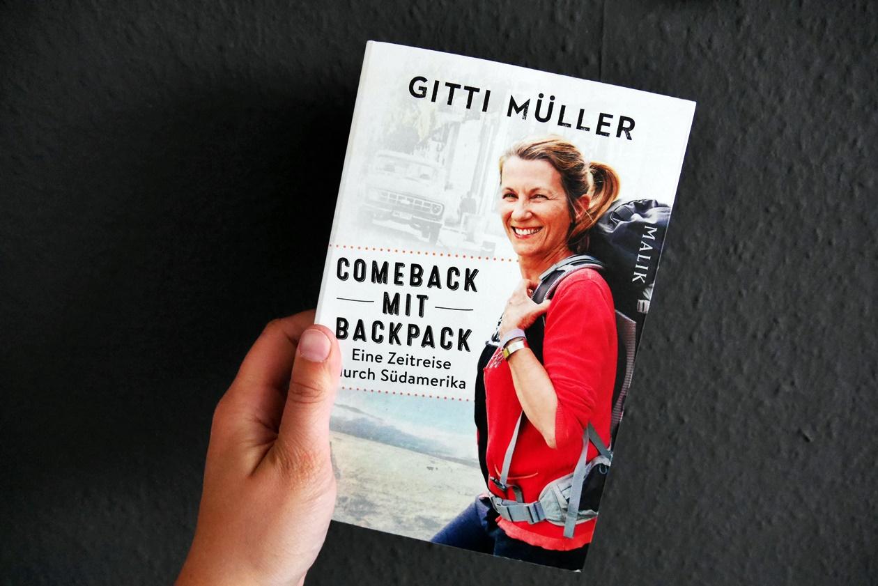 Cover des Buches Comeback mit Backpack von Gitti Müller