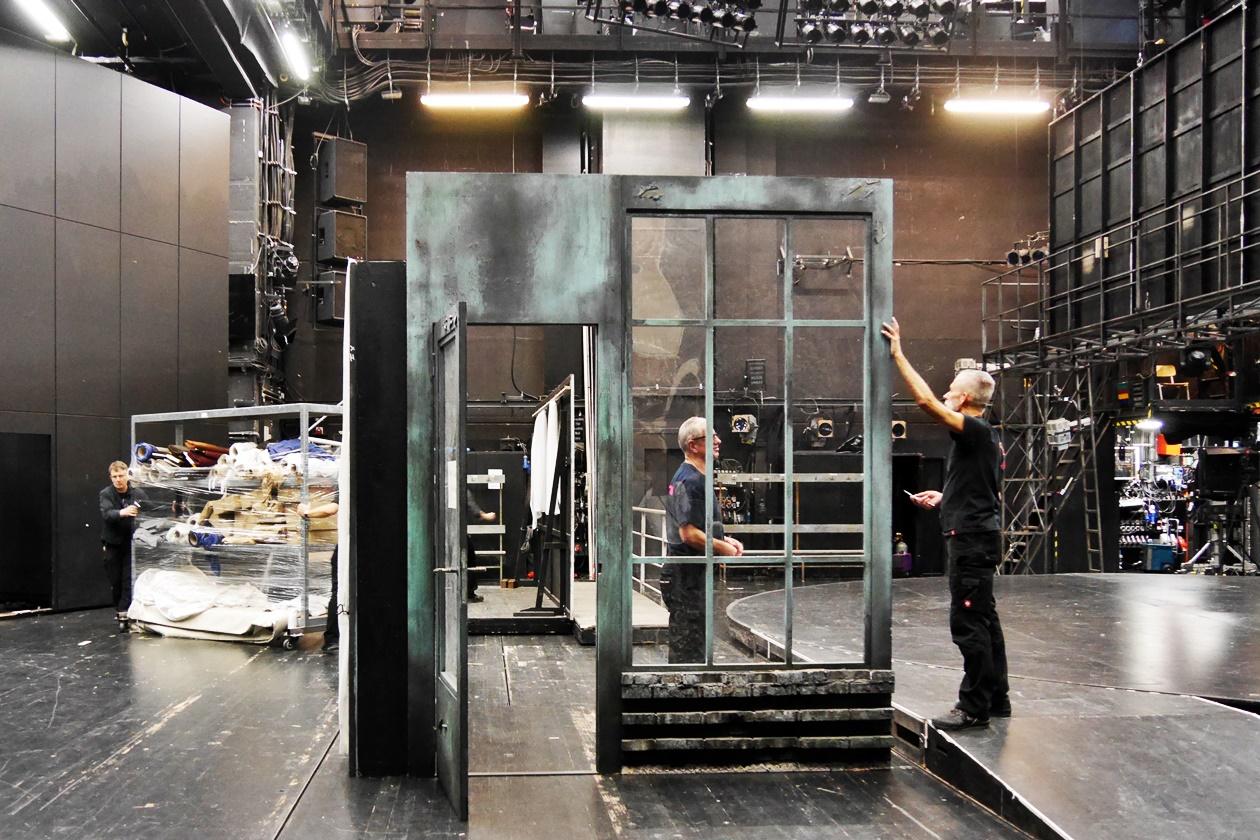 Blick hinter die Kulissen des Schauspielhaus Hannovers im Rahmen der Fotoparade Best of 1.Halbjahr 2017