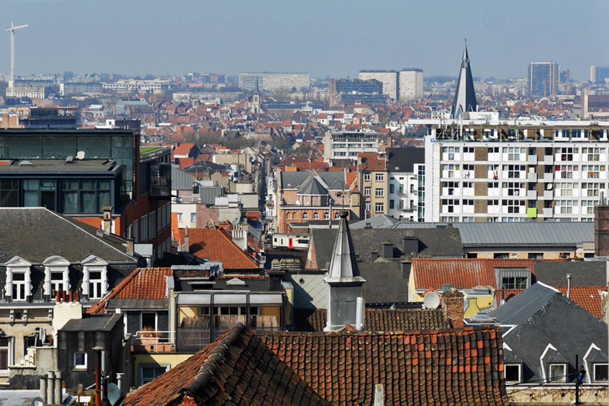 Ausblick über Brüssel im Rahmen der Fotoparade Best of 1.Halbjahr 2017