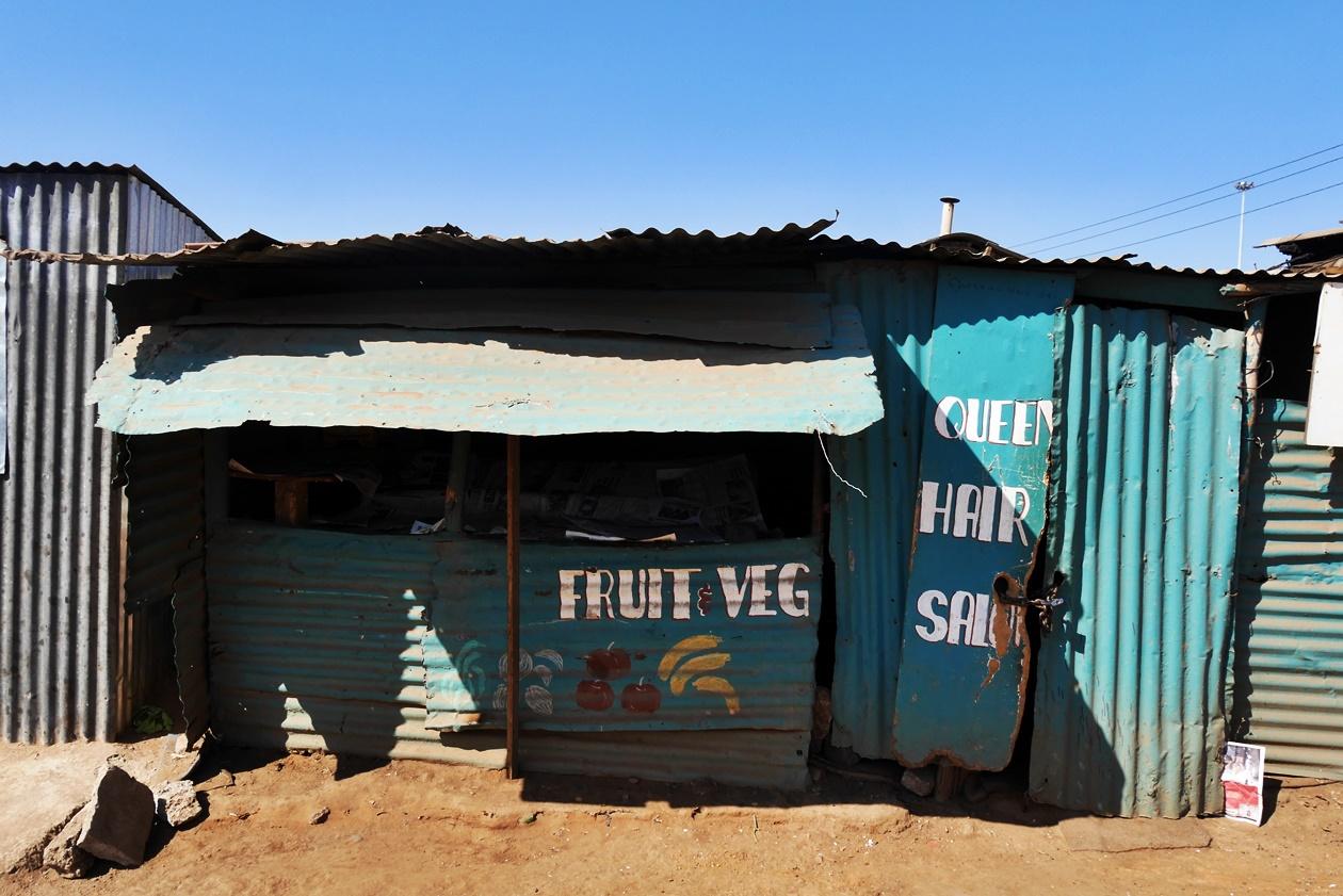 Fruchtstand in Soweto, Südafrika