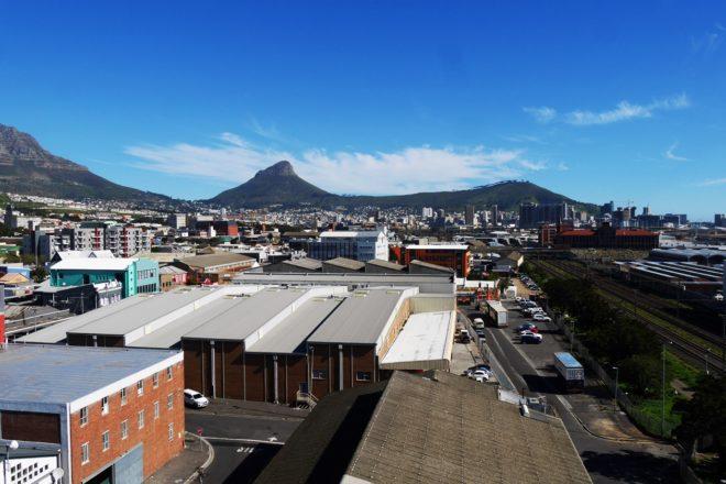 Blick auf Signal Hill in Kapstadt in meiner zweiten Praktikumswoche