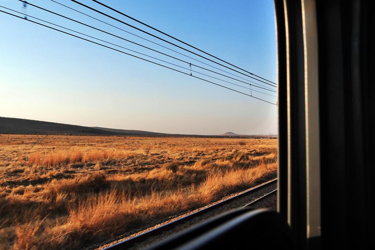 Mit Shosholoza Meyl von Johannesburg nach Kapstadt, die unendlichen Weiten Südafrikas