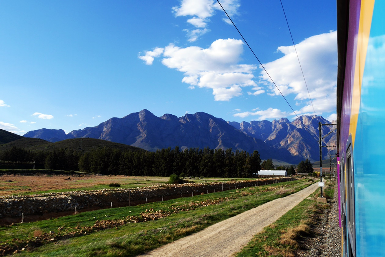Mit dem Shosholoza Meyl von Johannesburg nach Kapstadt, die Winelands um Kapstadt