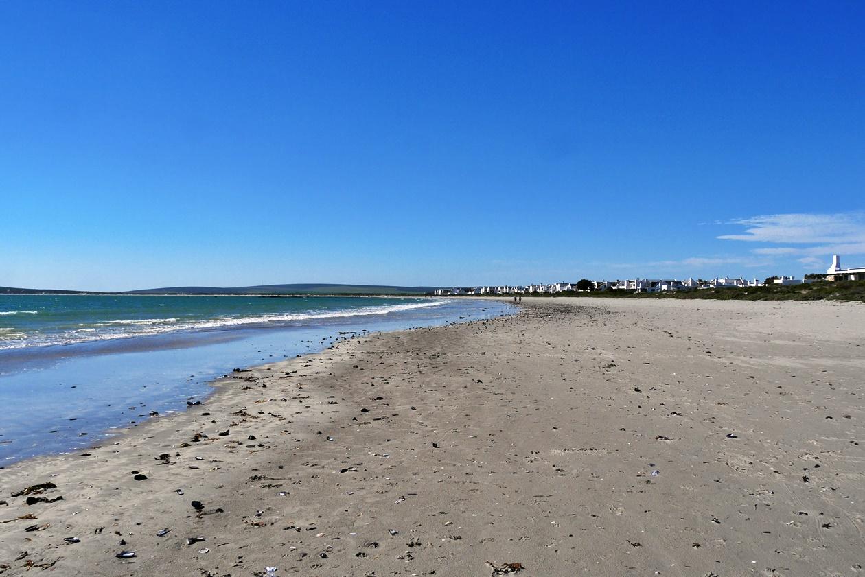 Der Strand von Paternoster auf unserem Wochenendausflug von Kapstadt