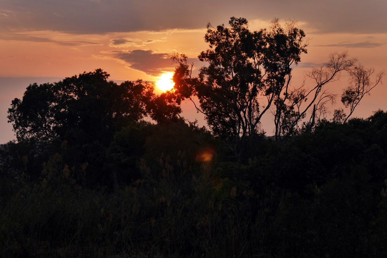 Sonnenaufgang auf Bovu Island
