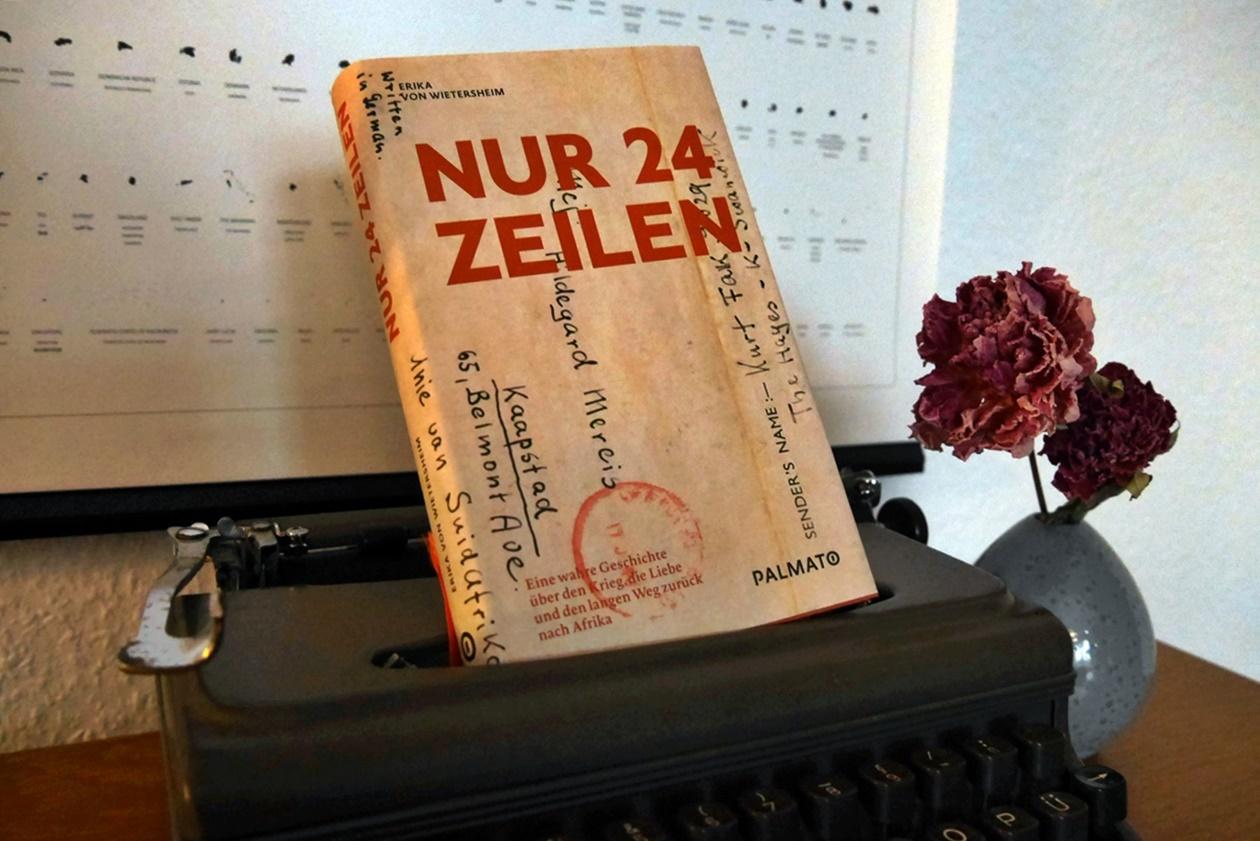 Cover des Buches nur 24 Zeilen