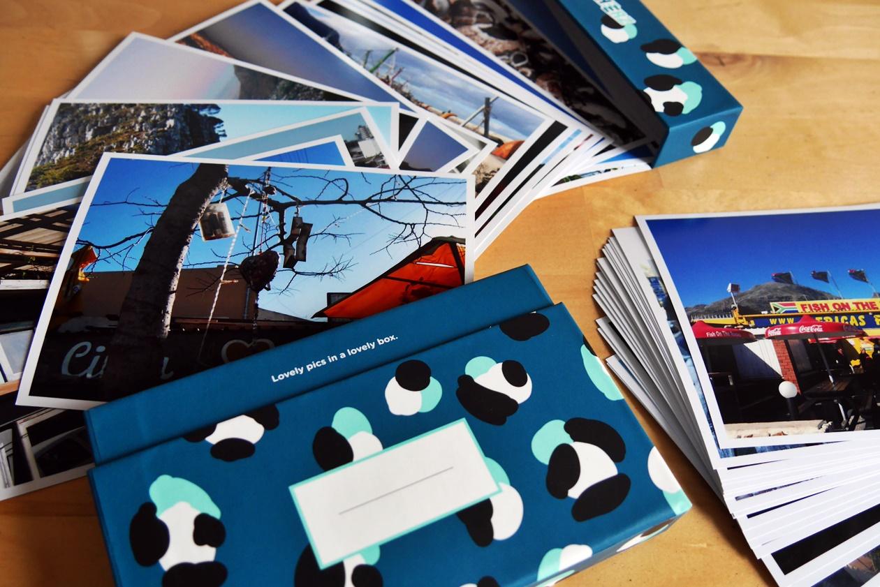 Fotoabzüge als Mittel um Reise Erinnerungen festzuhalten