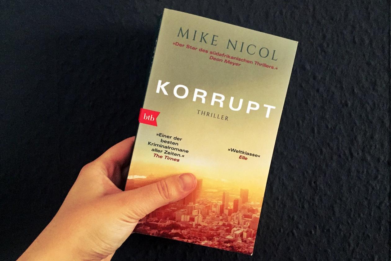 Cover des Buches Korrupt von Mike Nicol