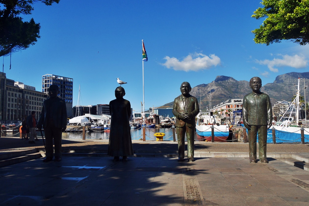 Nobel Square an der V&A Waterfront in Kapstadt
