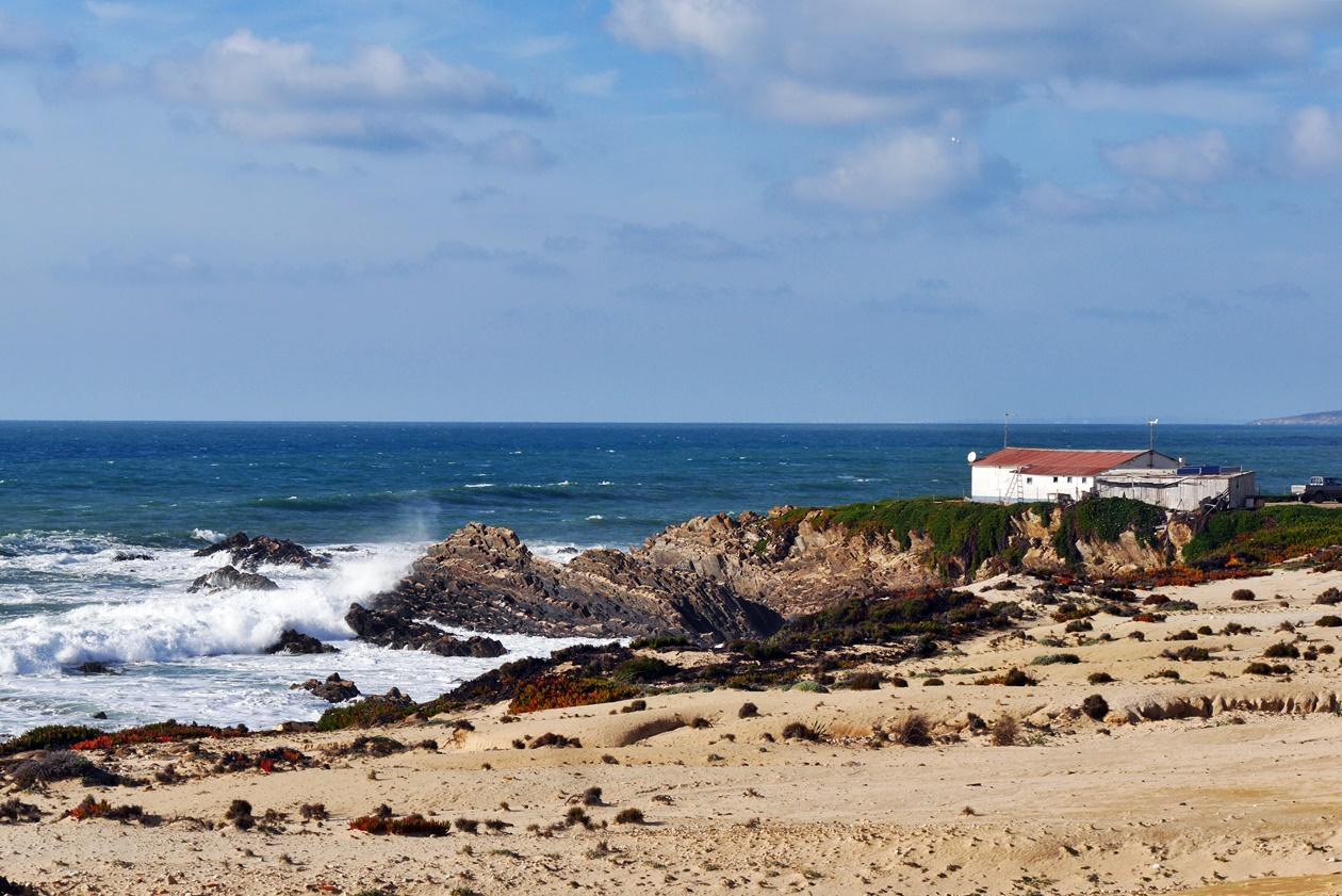 Haus entlang der Küste am Fisherman´s Trail