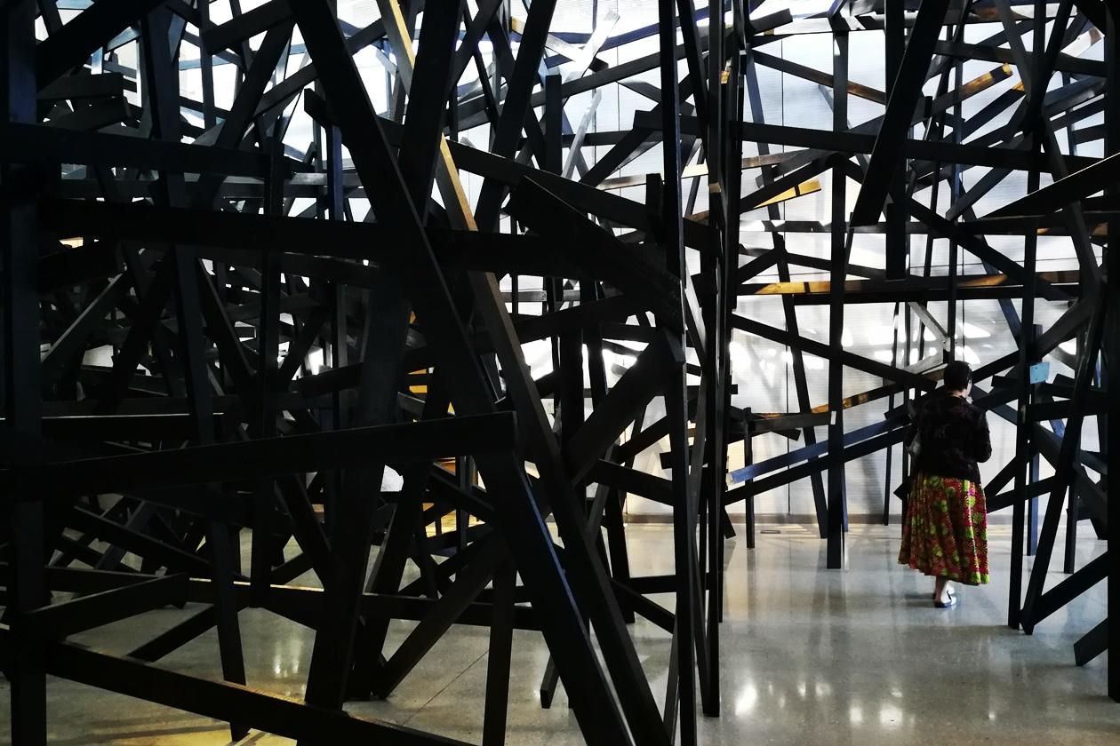 Kunstinstallation in der Norval Foundation in Kapstadt