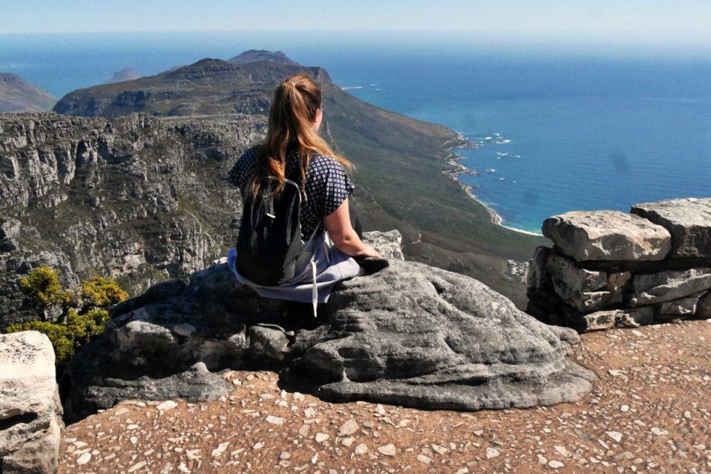 Wanderung auf den Tafelberg in Kapstadt