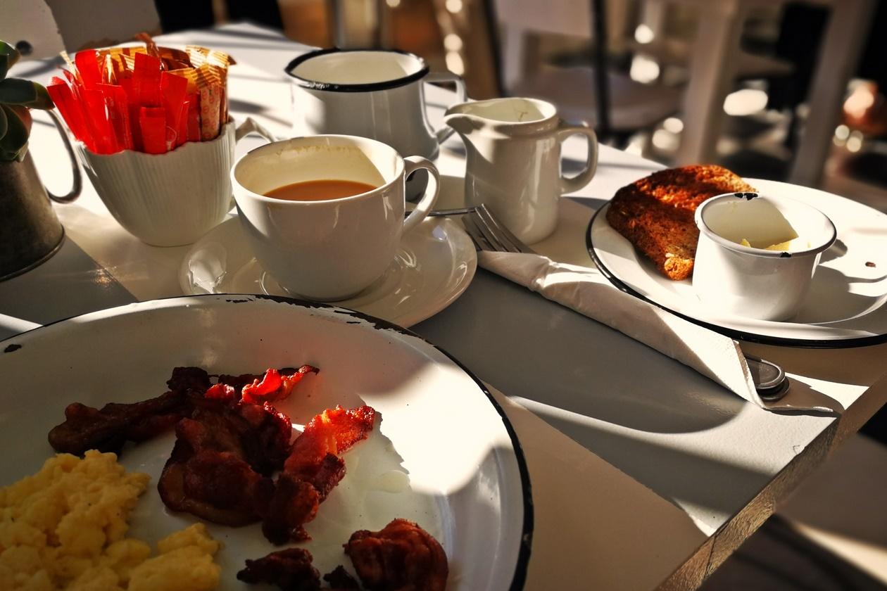 Frühstück bei Queen of Tarts in Kapstadt