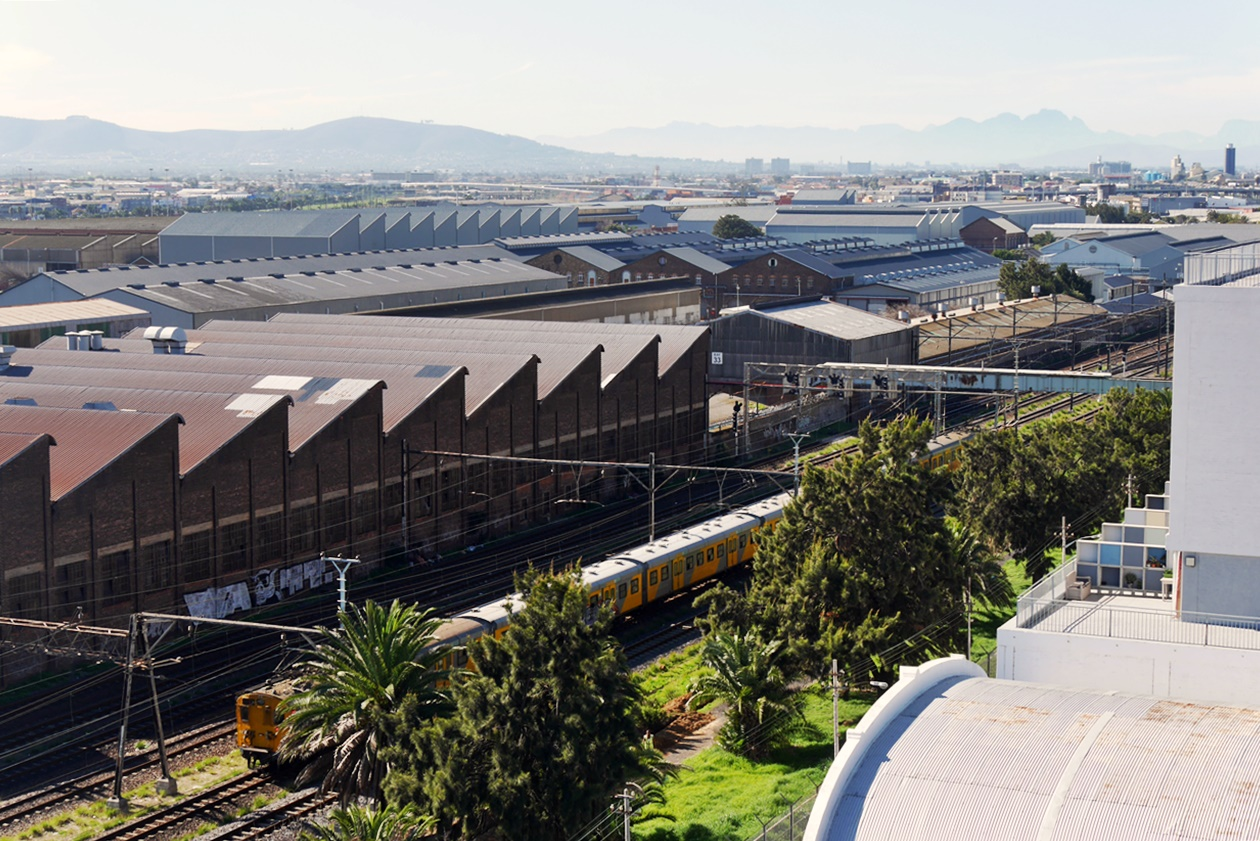 Zug von Kapstadt nach Simons Town