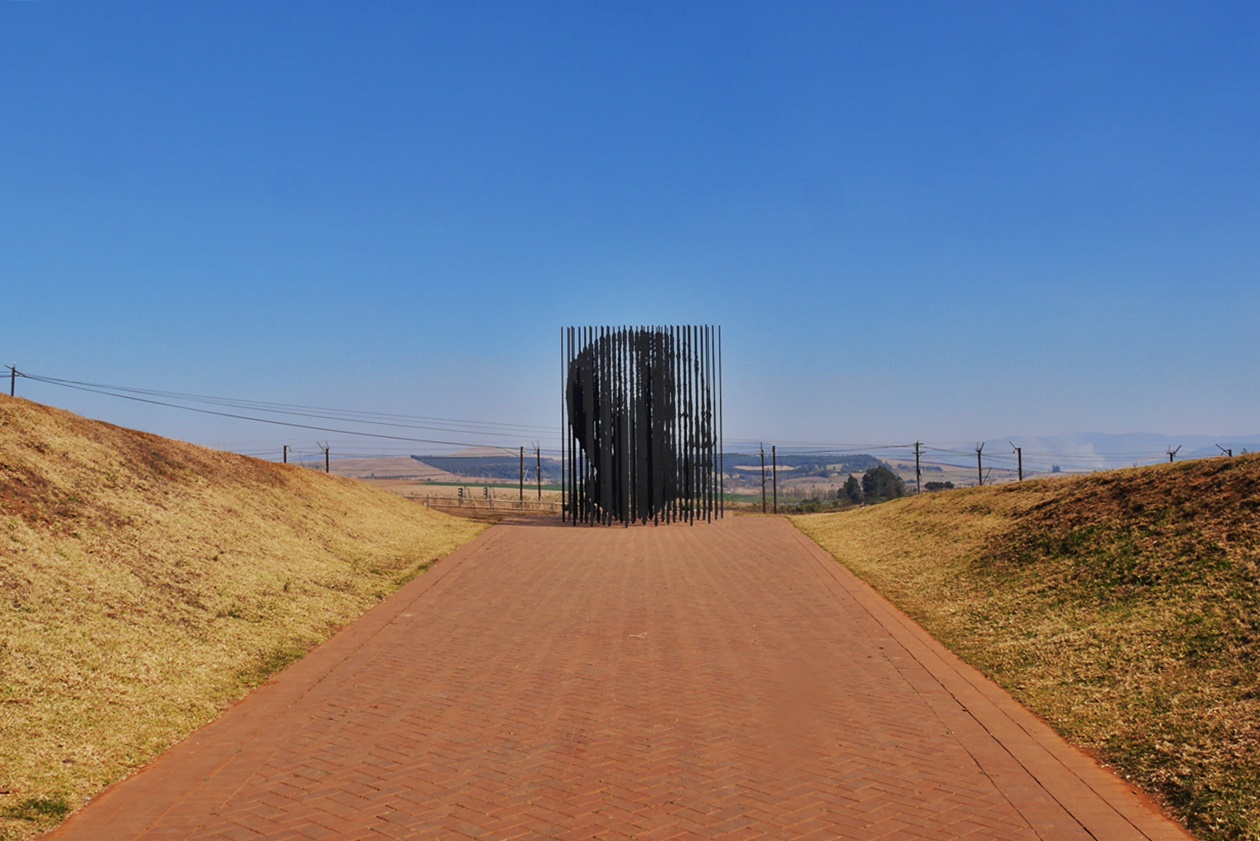 Nelson Mandela Capture Side bei Howick
