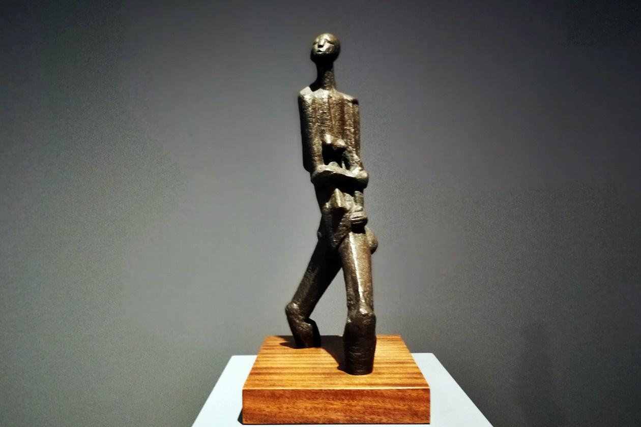 Ausstellungsstück in der Norval Foundation in Kapstadt