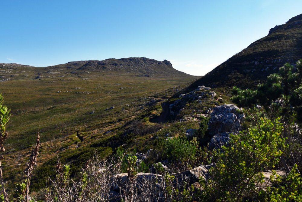 Landschaft im Silvermine Nature Reserve