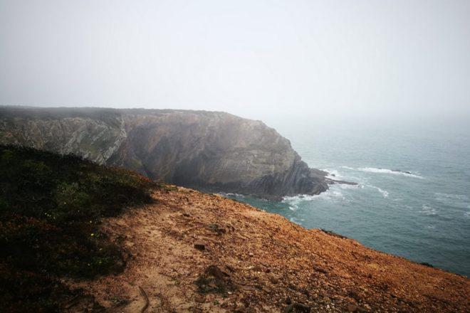Küstennebel auf der dritten Etappe auf dem Fisherman´s Trail
