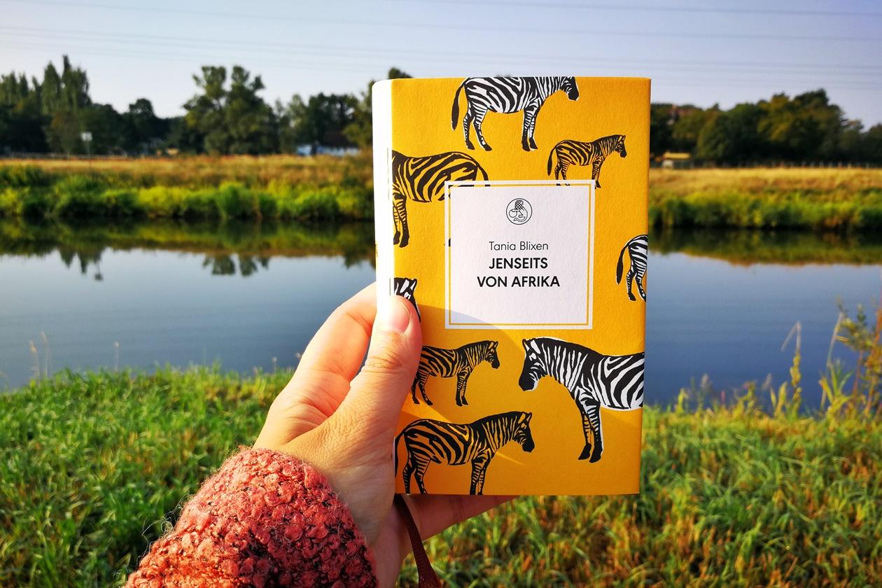 Cover des Buches Jenseits von Afrika