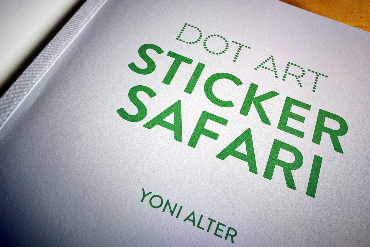 Blick ins Buch Dot Art: Sticker Safari