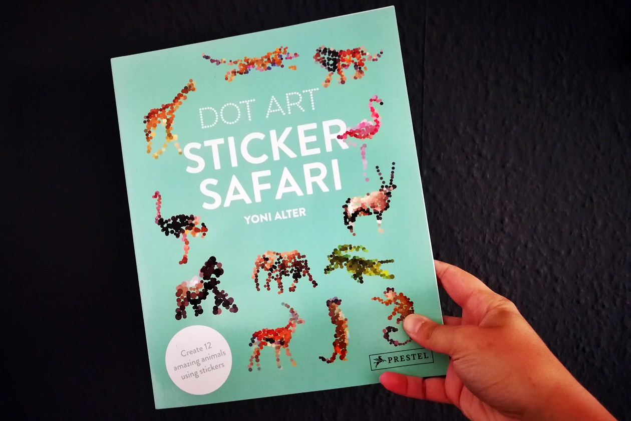 Cover des Buches Dot Art: Sticker Safari
