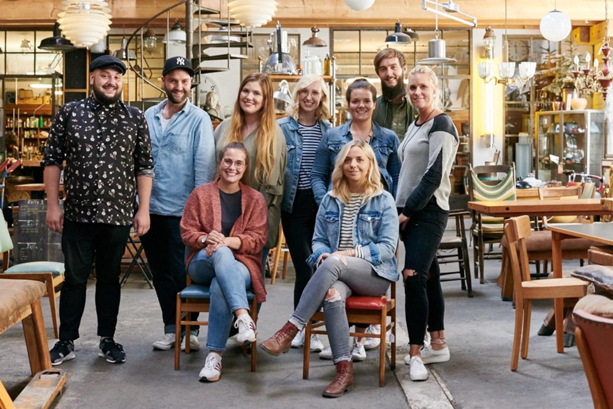 Gruppe auf der Bloggerreise Unterwegs in Sachsen