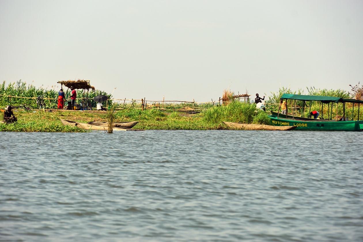 Fischer auf dem Shire River