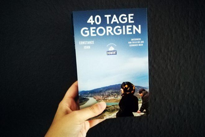 Cover des Buches 40 Tage Georgien