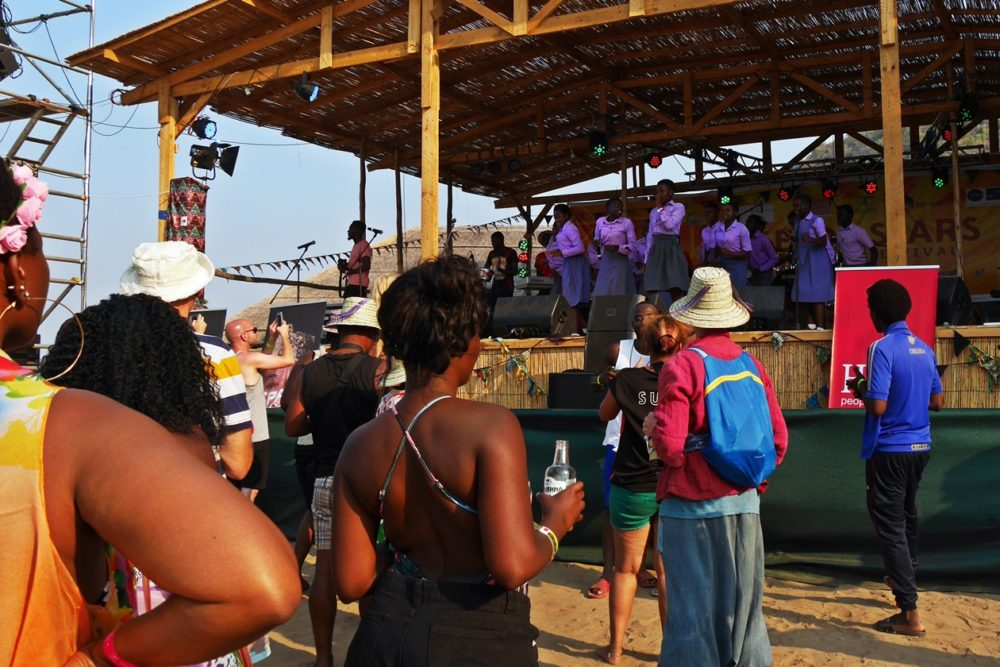 Hauptbühne des Lake of Stars Festival in Malawi