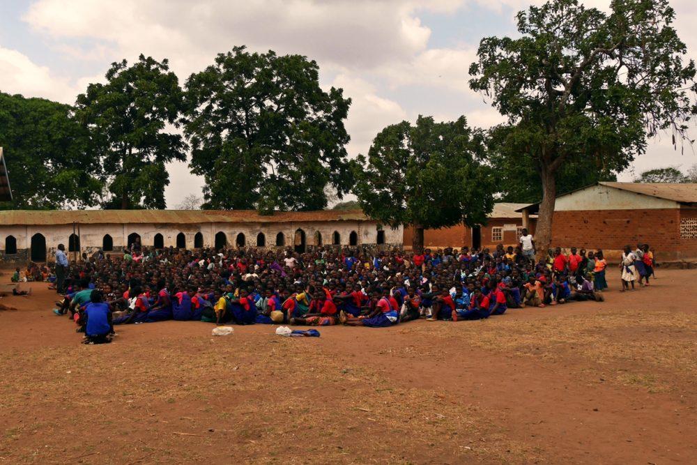 Eine Schule in Malawi