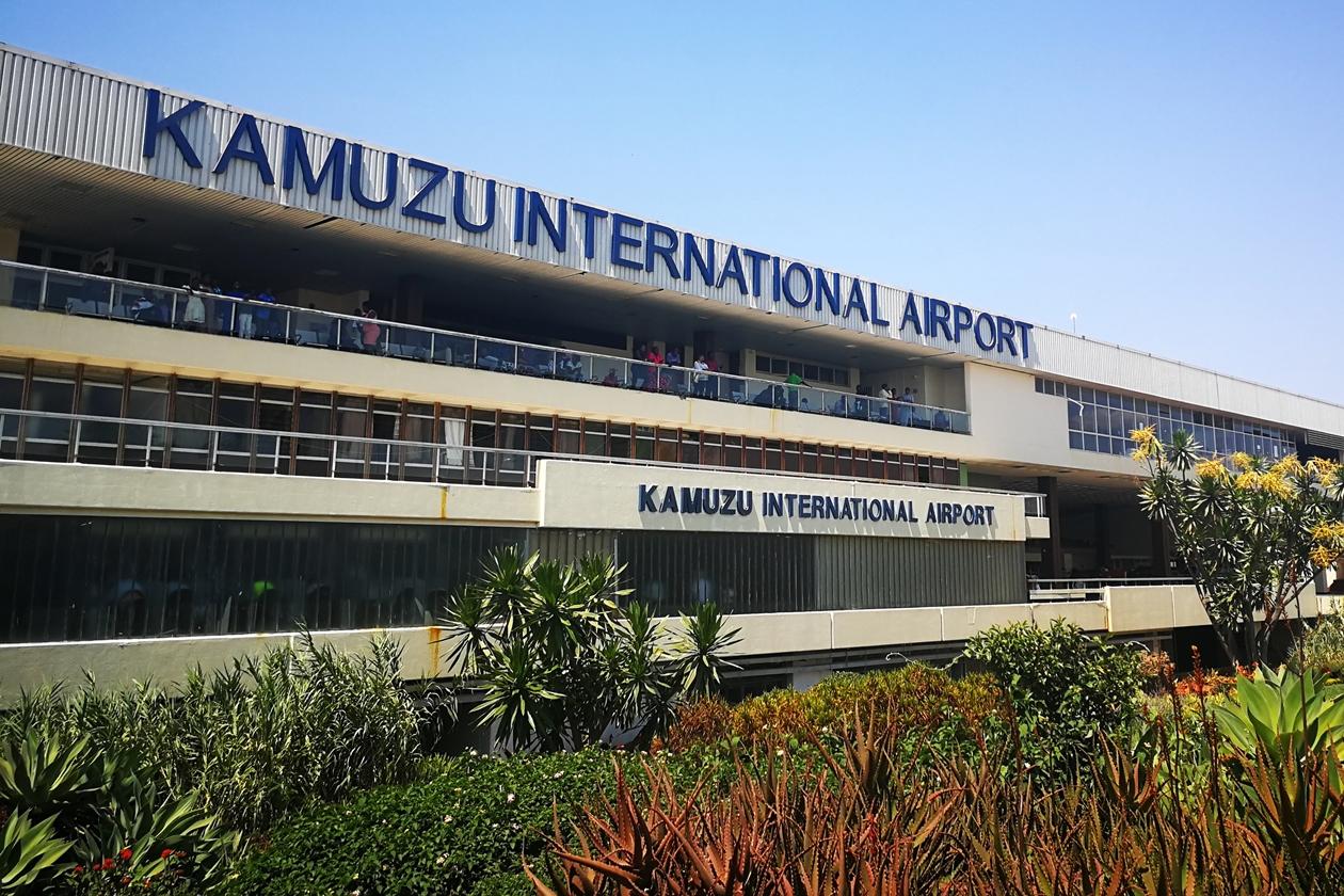 Flughafen von Lilongwe, der Hauptstadt Malawis