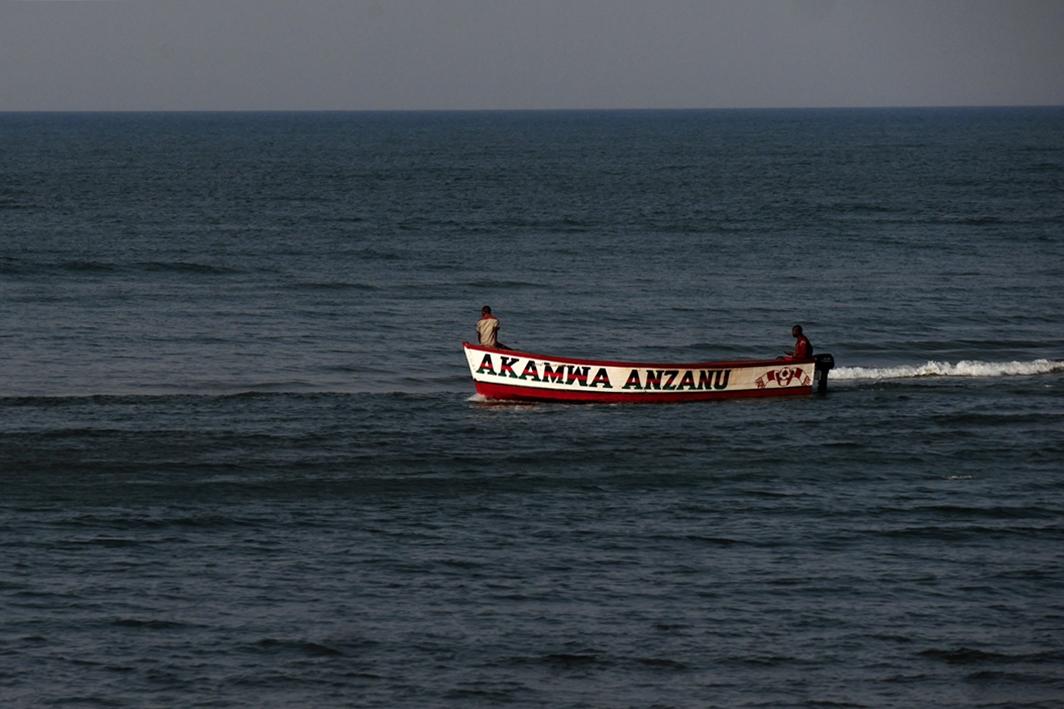 Fischer auf dem Malawisee in Malawi