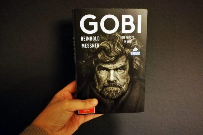 Cover zur Rezension des Buches Gobi - Die Wüste in mir von Reinhold Messner