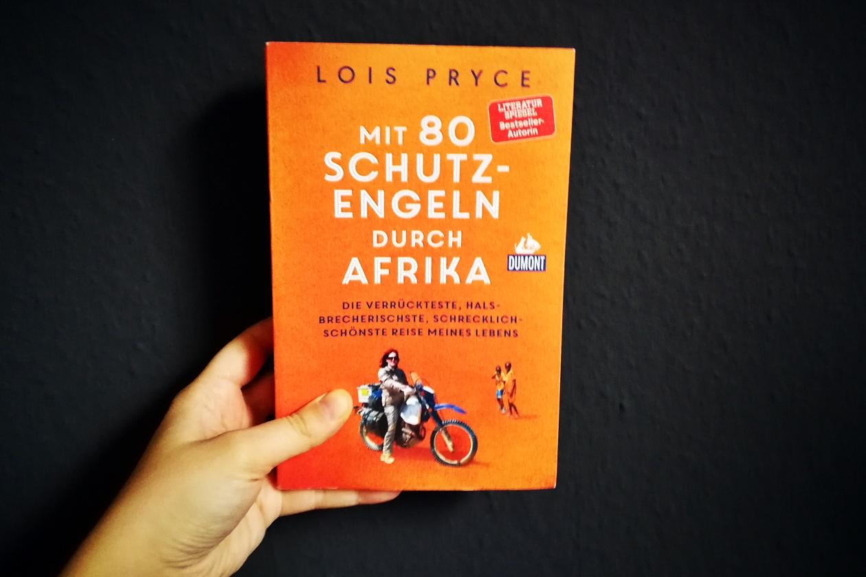 Cover des Buches mit 80 Schutzengeln durch Afrika