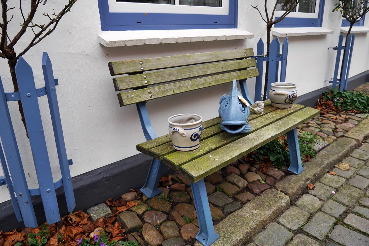 Details in der Fischersiedlung Holm